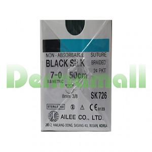 블랙실크 7/0-8mm/50cm (SK726)_사다리침